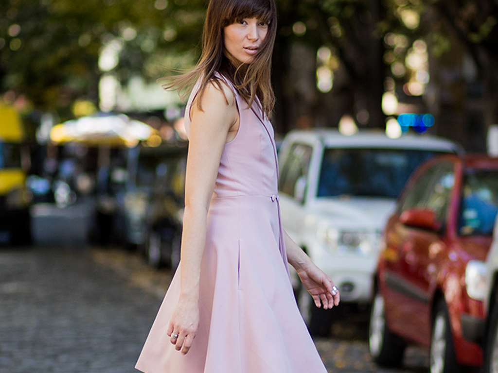 This Is the Most Fashion-Forward Way to Wear Millennial Pink