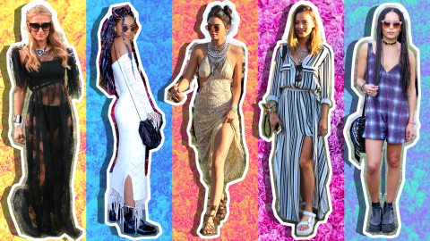 30 Stylish Celebrity Coachella Outfits to Inspire Your Festival Fashion