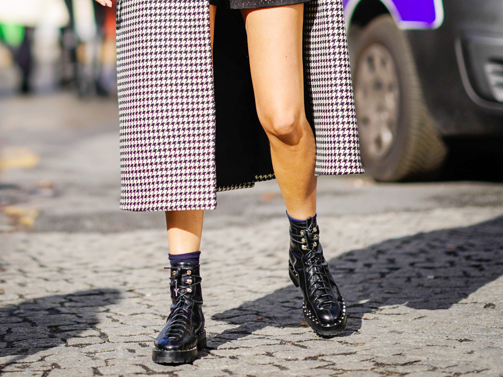 These Are the Best Boots to Pair with a Miniskirt