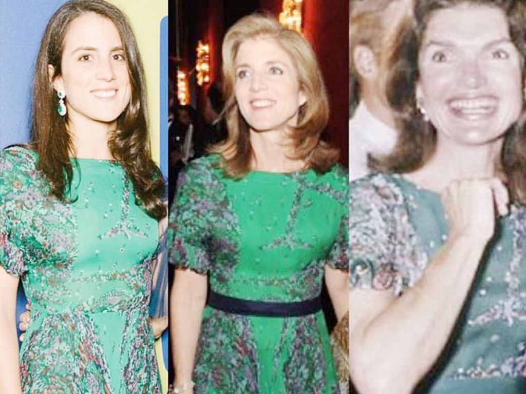 Jackie Kennedy, Her Daughter, and Granddaughter Have All Worn This Dress
