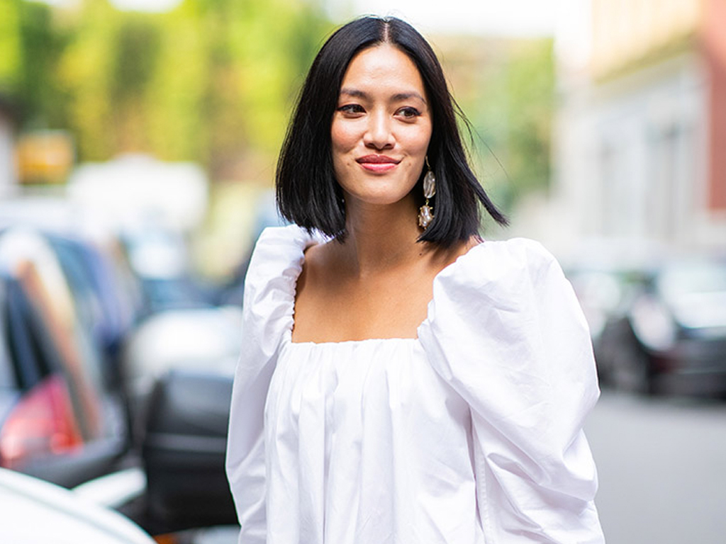 This Trending Neckline Is So Flattering Everyone Needs to Buy It Immediately