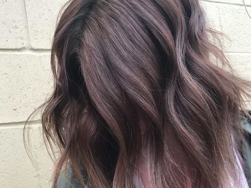 'Ash Mauve' Hair Color Is Subtle, Playful and Trending for Spring