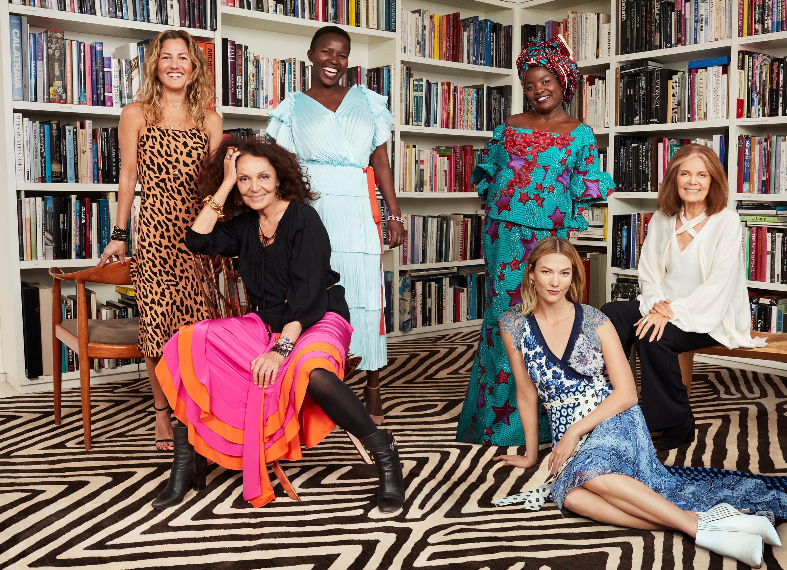Diane Von Furstenberg Went Extra-Big for Her 10th Annual Awards