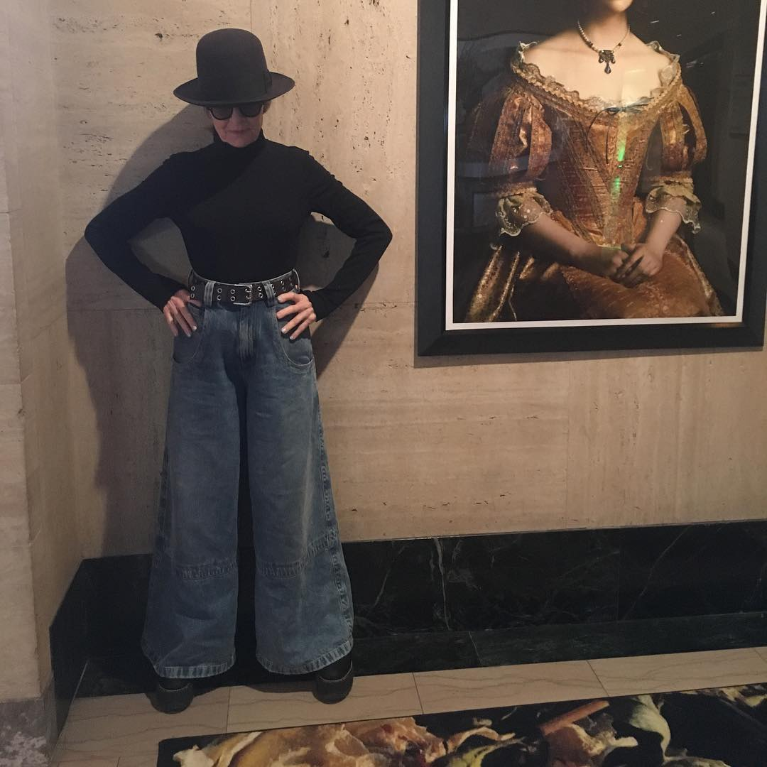 Diane Keaton Finally ID'd Her Instagram Famous Jeans