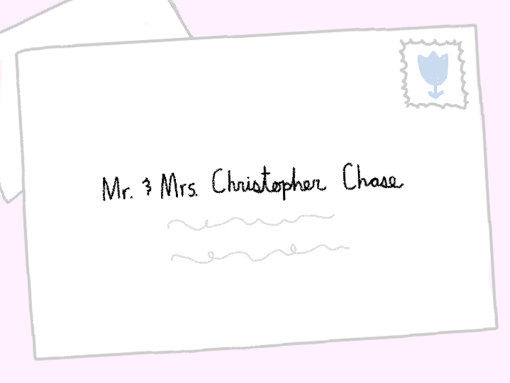 Here's Every Single Way to Address Wedding Invitation Envelopes
