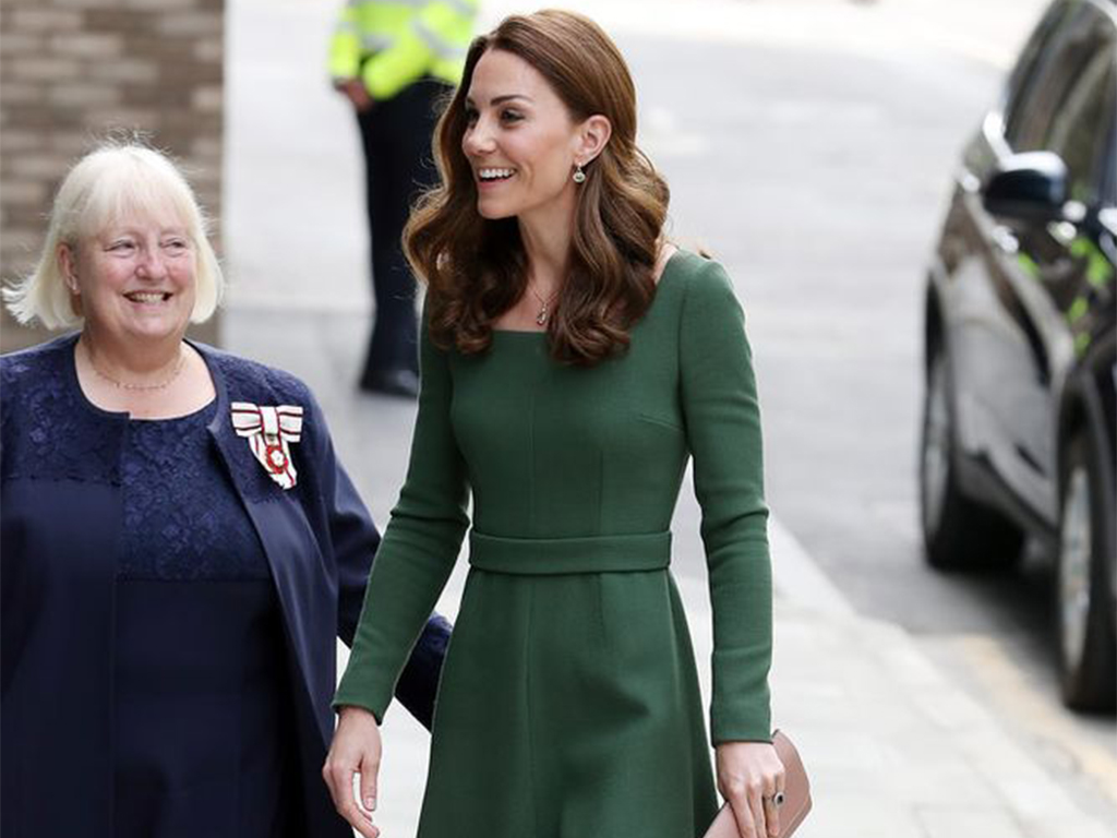 Kate Middleton Declares It's Spring, Ditches Her Coat for Solo Royal Engagement
