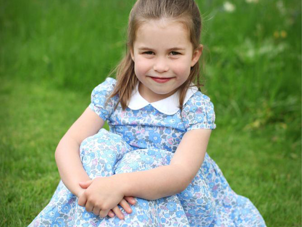 Princess Charlotte's New Birthday Portraits Are Out