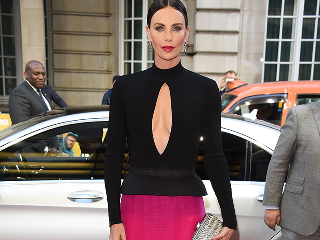 Charlize Theron's Mani Is the Low-Key Star of Her Latest Red Carpet Look