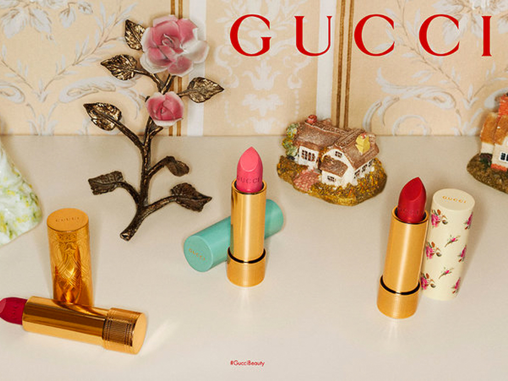Gucci Is Relaunching Its Makeup Line With 58 Shades of Lipstick