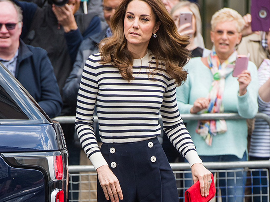 Kate Middleton's Chic Regatta Outfit Just Gave Us a Case of Stripe Envy