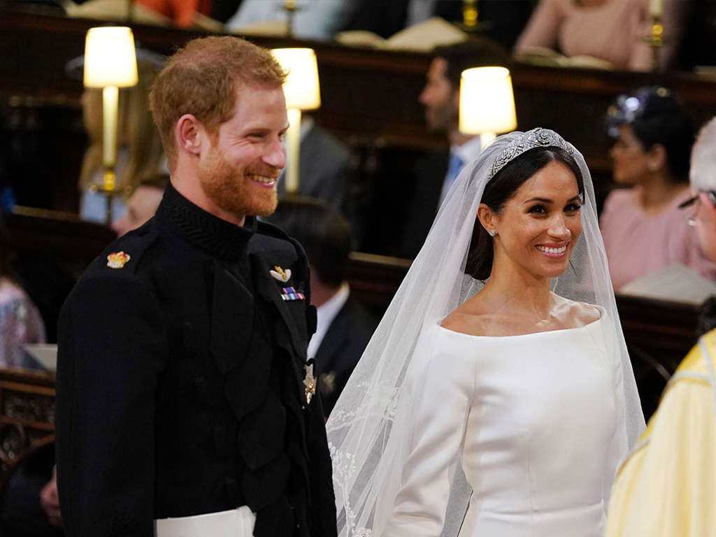 Meghan and Harry's 1-Year Anniversary Post Reveals Never-Before-Seen Photos from Their Royal Wedding