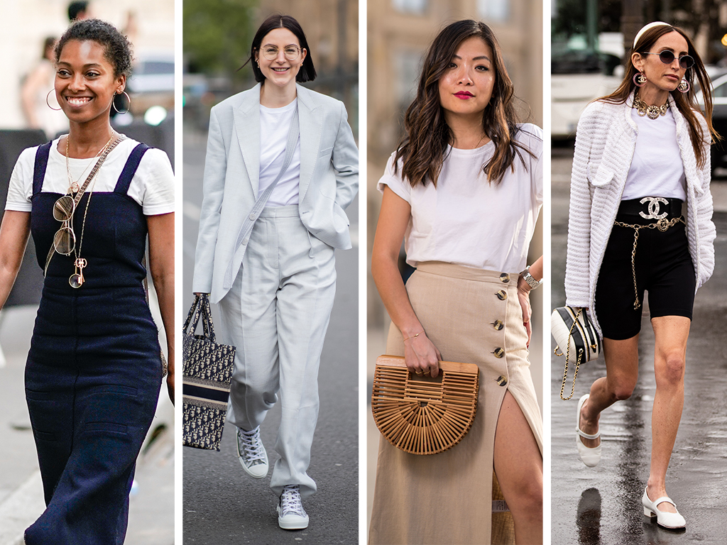 The White Tee: 7 New Ways to Style Your Classic Go-To