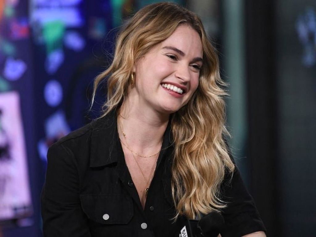 Lily James Chopped Her Hair Into a Blunt Bob and Looks Incredible