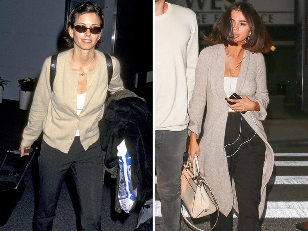9 Times Selena Gomez Dressed Exactly Like '90s Courteney Cox