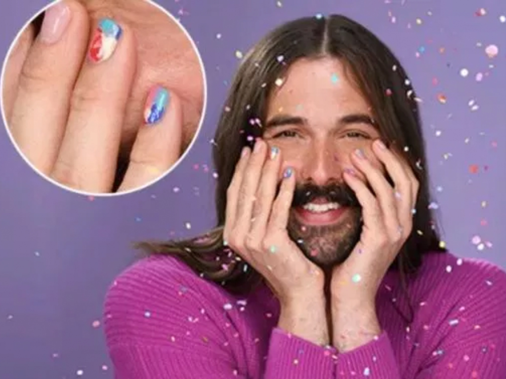 Jonathan Van Ness Is Officially Essie's First Non-Female Partner