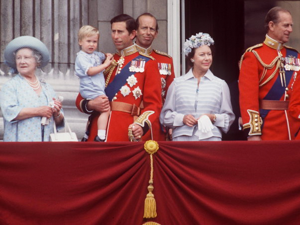 Prince Louis Re-Wore Prince Harry's Trooping the Colour Outfit 33 Years Later