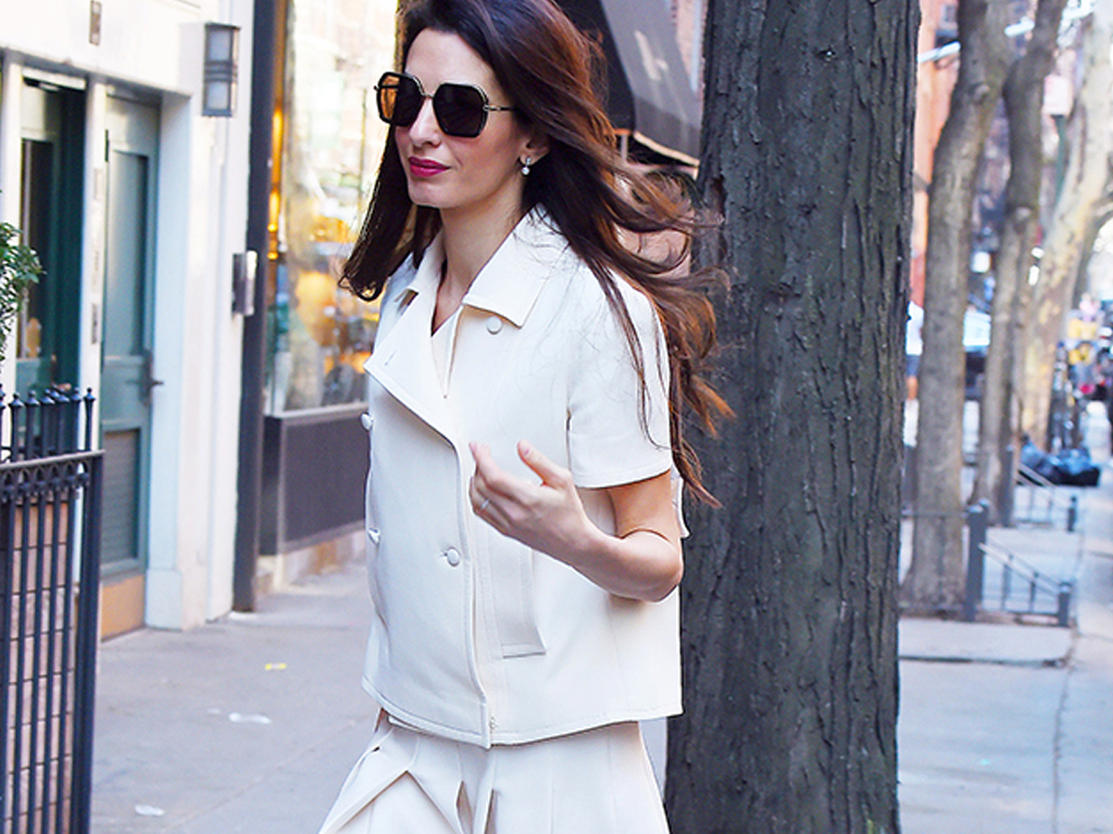 6 Summer Outfit Formulas We're Stealing From Amal Clooney