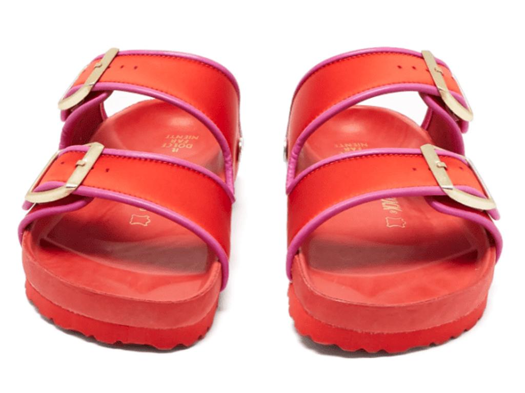 These Bright Red Birkenstocks Will Add a Joyful Note to Your Summer Wardrobe