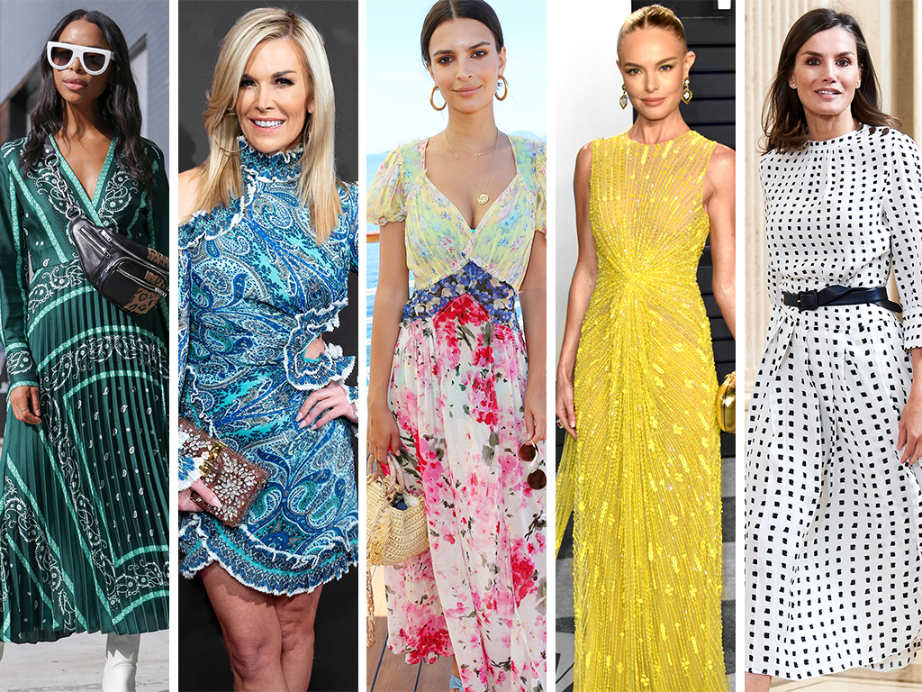 5 Ways to Style Your Summer Dress (According to Your Favorite Stars)