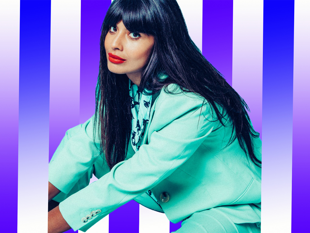 Jameela Jamil Won't Let NBC Photoshop Her 'Good Place' Promo Pictures & We Stan