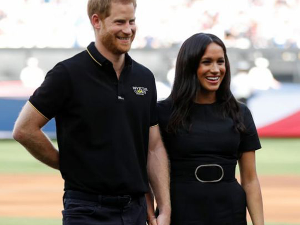 Meghan Markle Wore a Thing: Stella McCartney Belted Dress Edition