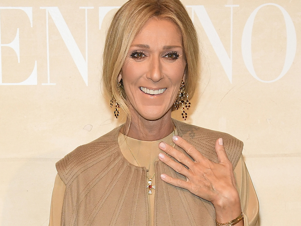 Céline Dion Wore an Optical Illusion & You Really Have to See It