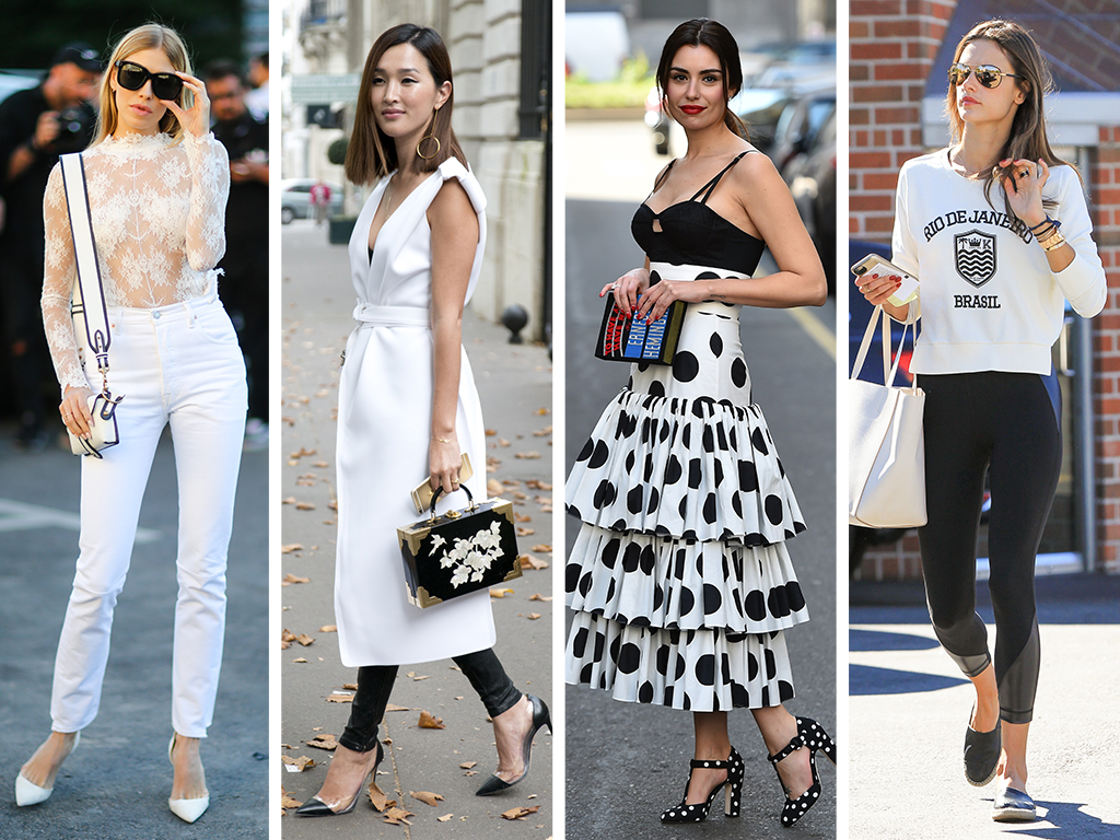 4 (Totally Chic) Ways to Style Black & White