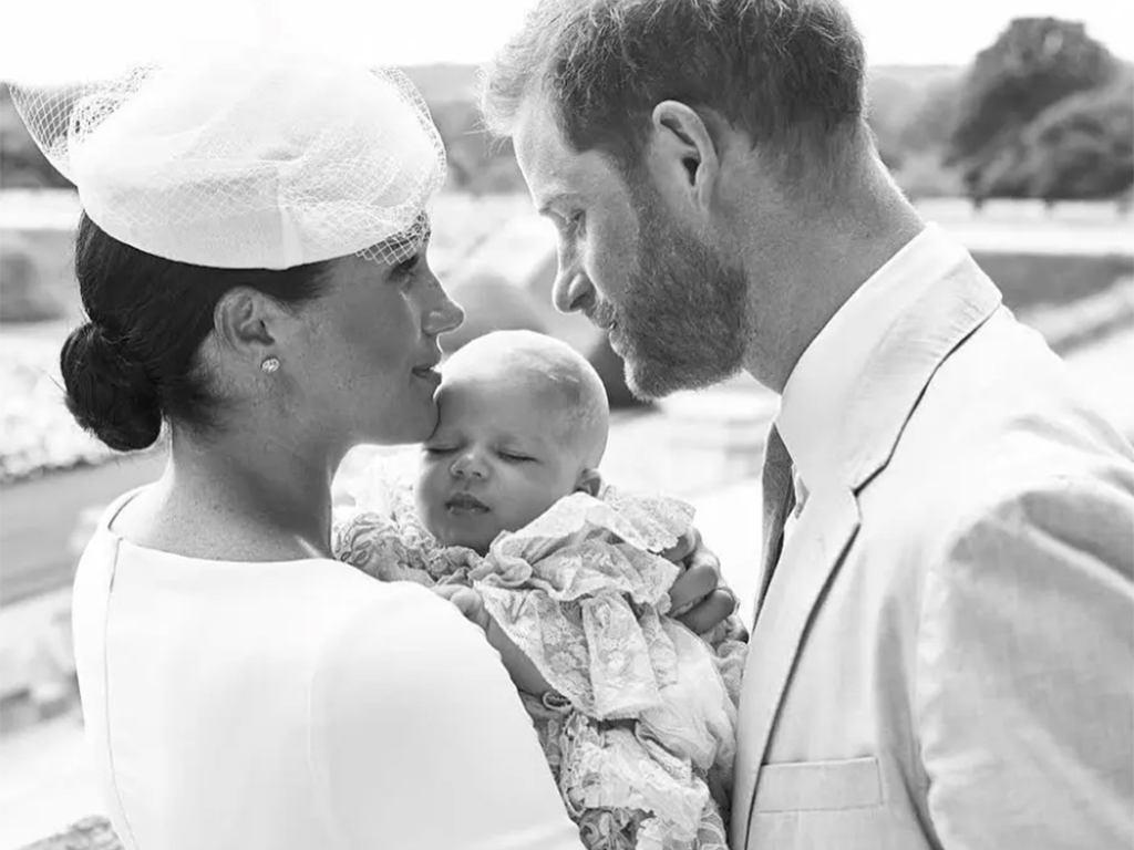 Meghan Markle Wore a Thing: White Dior Dress for Archie's Christening Edition