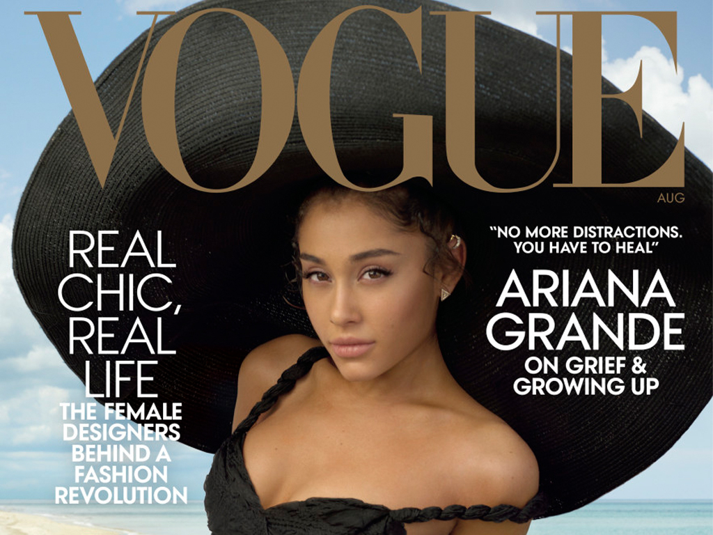 Must Read: Ariana Grande Covers the August Issue of 'Vogue,' Serena Williams Is Unretouched for 'Harper's Bazaar'
