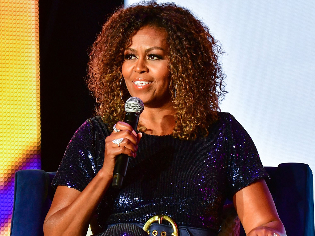 Michelle Obama Wore Rihanna-Approved Designer Sergio Hudson At Essence Festival