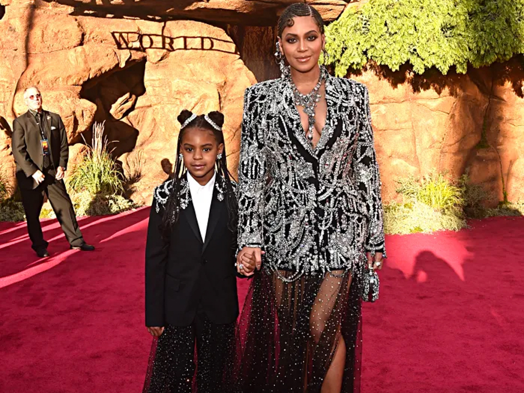 Beyoncé at the 'Lion King' Premiere. That's All.