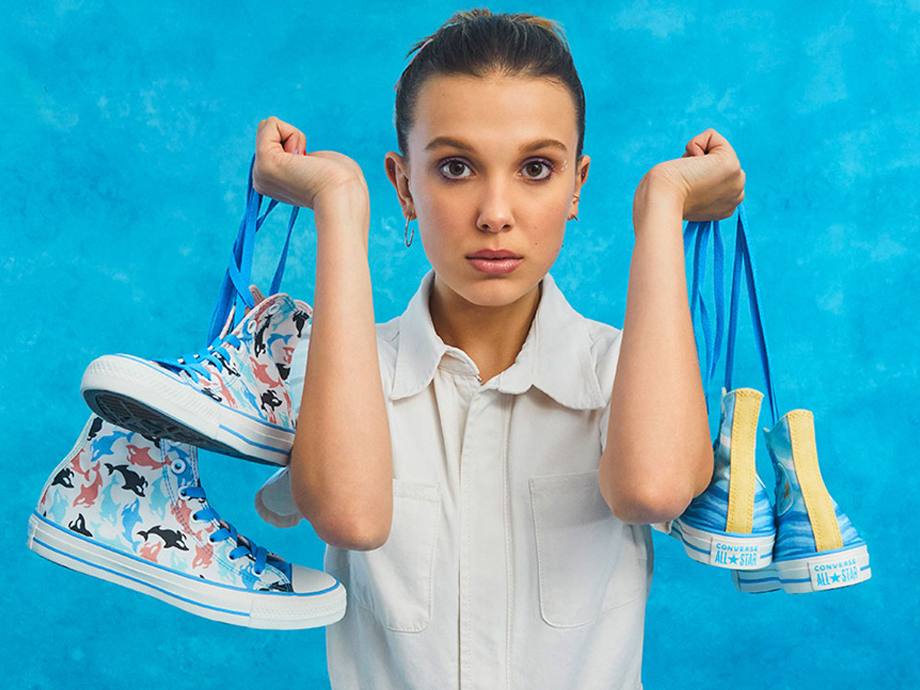 Millie Bobby Brown Just Launched a Converse Sneaker Collection that You Can Customize Yourself