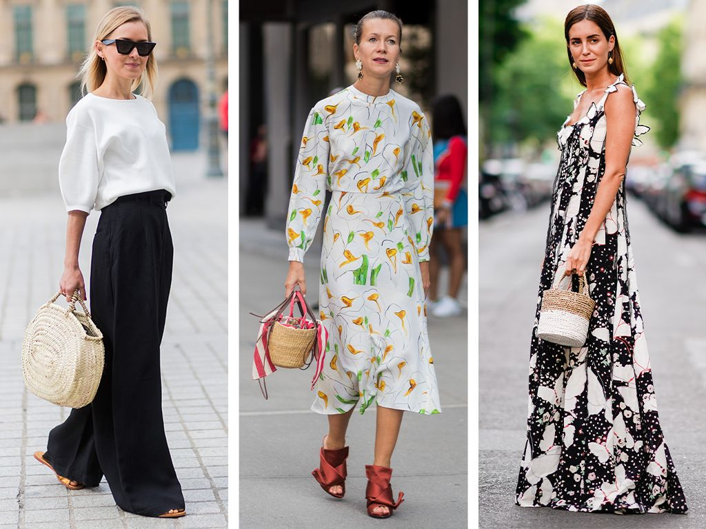 3 Looks That Prove the Wicker Bag Is a Summer Staple