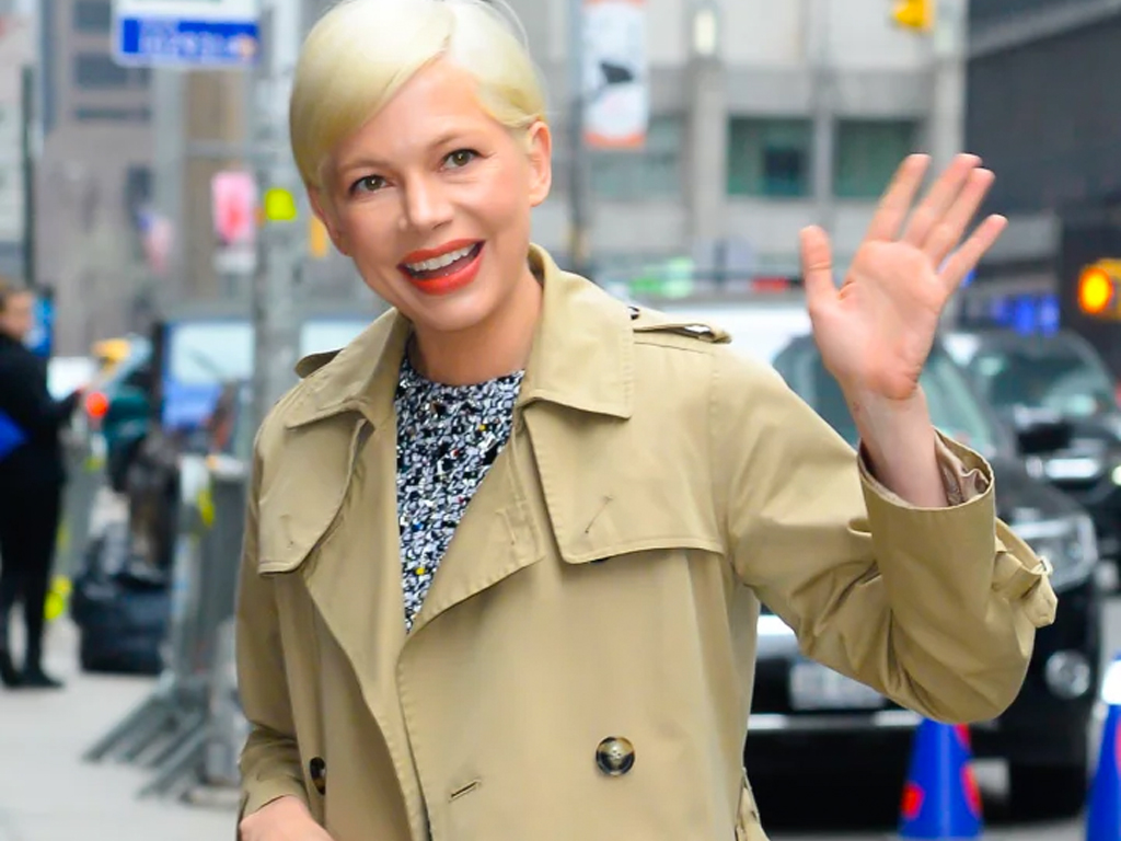 Michelle Williams Has The Perfect French-Girl Bob
