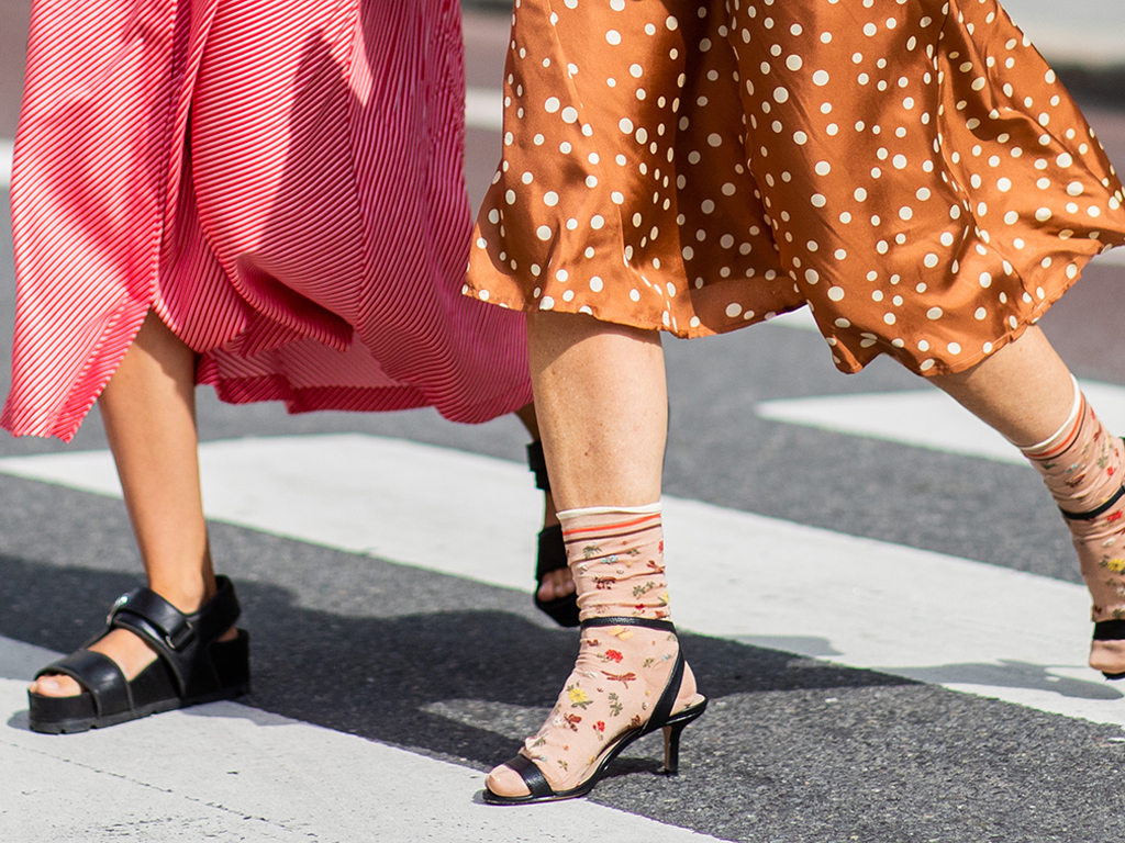 PSA: Socks and Sandals Are Suddenly Chic (and Your Summer-to-Fall Footwear Solution)