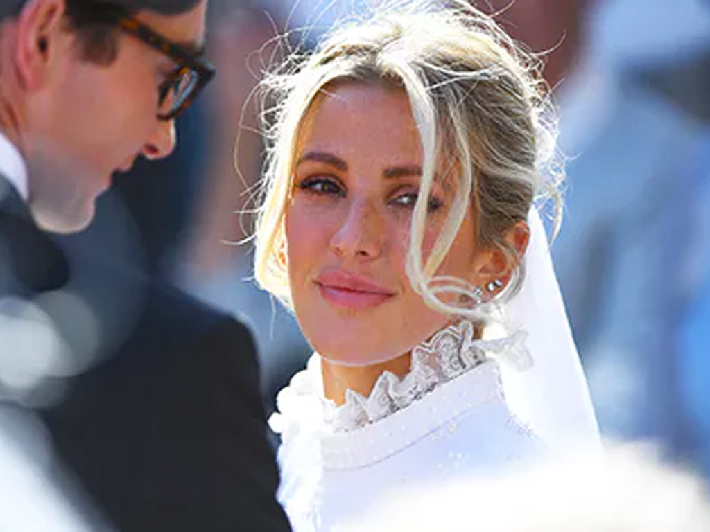 Everything We Know About Ellie Goulding's Victorian Wedding Gown