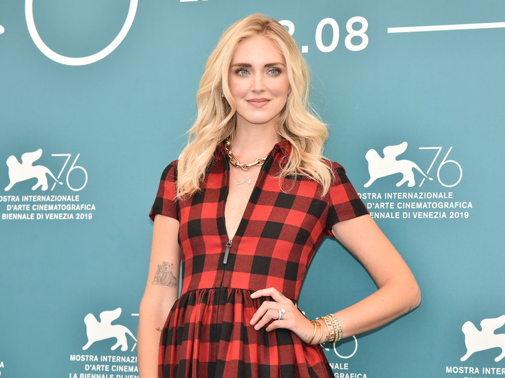 Chiara Ferragni Hits the Venice Film Festival in Dior