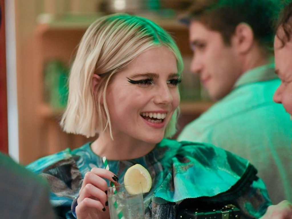 Lucy Boynton Might Have Just Started an Ice Cream Makeup Trend