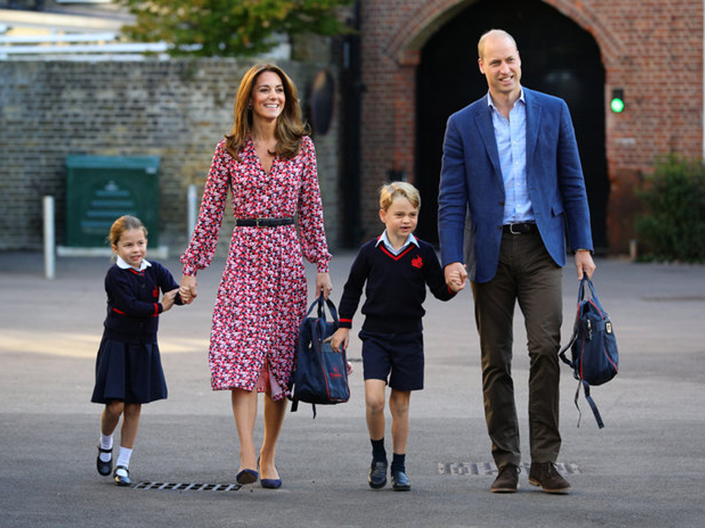 Princess Charlotte Added the Cutest Accessory to Her School Uniform