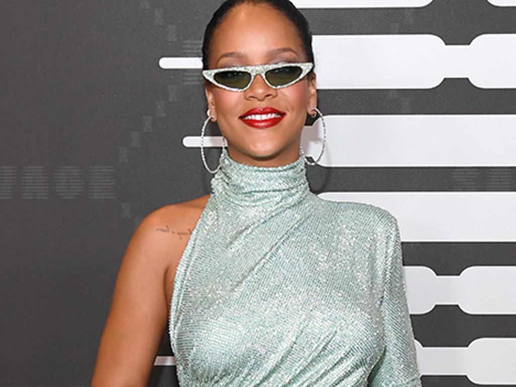 Rihanna Shone Bright like a Diamond in a Dress with 220,000 Swarovski Crystals